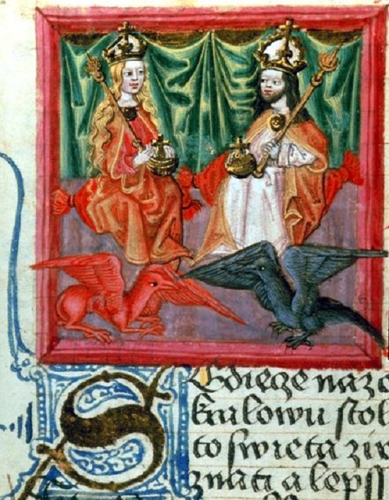 Charles IV and Blanche of Valois