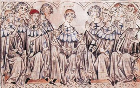 The wedding of John and Elizabeth in Speyer