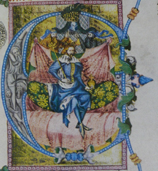 Illumination of the Wenceslas Bible